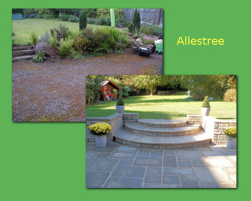 Landscaping east midlands landscape gardening east for Gardening and landscaping services